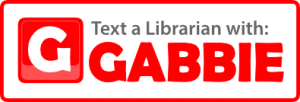 text a librarian with gabbie
